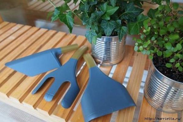 Садовые инструменты из пластиковых бутылок (7) (600x400, 166Kb)