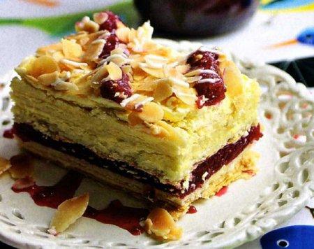 торт слоенный малина (450x356, 171Kb)