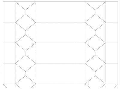 КОНФЕТЫ - подарочная упаковка из бумаги (2) (400x297, 40Kb)