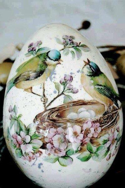 Яйца к паске мастер класс поделка #8