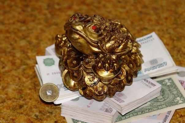 Трехногая денежная жаба (также
