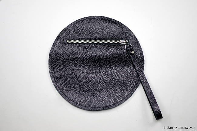 diy leather round clutch by www.fashionrolla.com-16 (650x433, 176Kb)