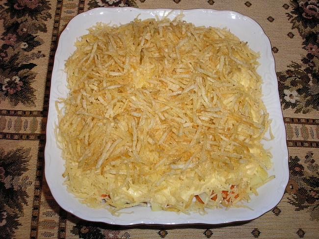 Салат мельница рецепт