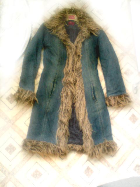 Джинсовое пальто ::