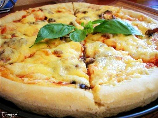 Воздушное тесто для пиццы рецепт пошагово