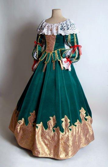 Мода старинных платьях