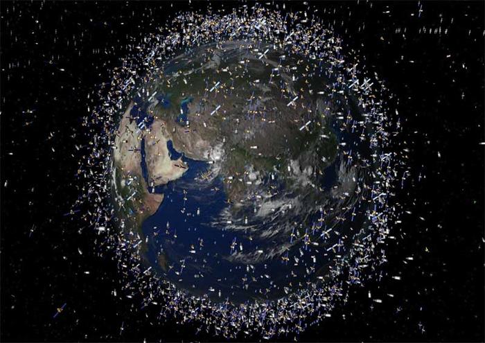 """Китай призывает к международным усилиям по сокращению космического мусора """" Военные материалы"""