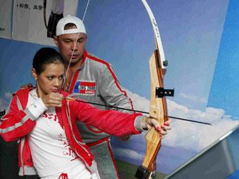 Костя Цзю и Ирина Чащина. Фото предоставлено пресс-службой ОКР