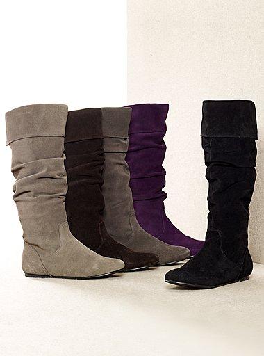 Обувь Ботинки Зимние Женские Без Каблука Фото