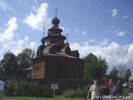 Музей Деревянного зодчества Суздаль Ленивка-Тур