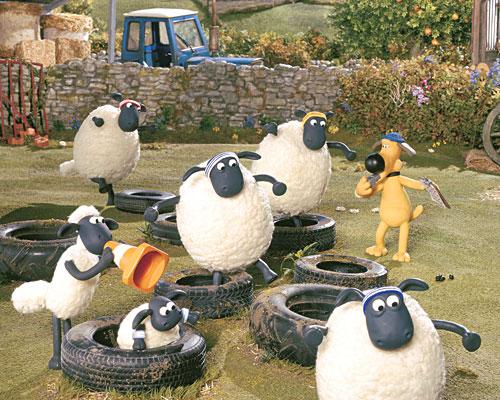 Метки shaun the sheep барашек шон