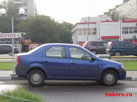Renault Logan Автоинструкторы bakero.ru Вид сбоку