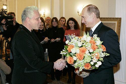 Из музея Санкт-Петербурга изъяли картину с изображением Путина и Медведева в женском белье - Цензор.НЕТ 9735