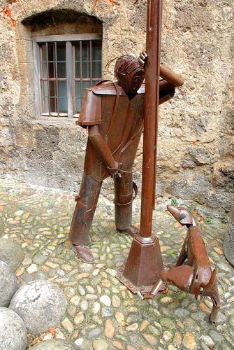 Интересная монументальная скульптура - Страница 2 32540193_Germaniya_Burghauzen___u_zamka