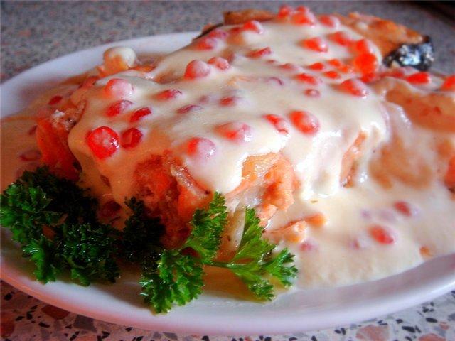 Икорно сливочный соус для семги с фото