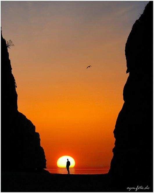 "Закаты "" Закат Солнце Небо Огонь Природа"