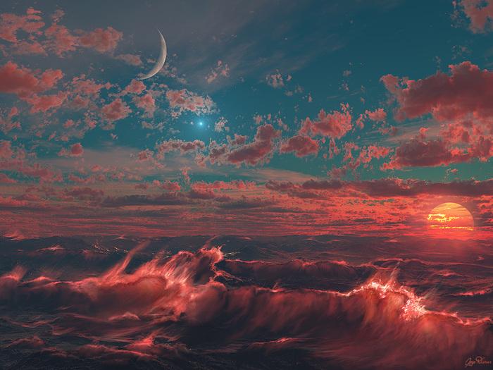 Ocean of Fire