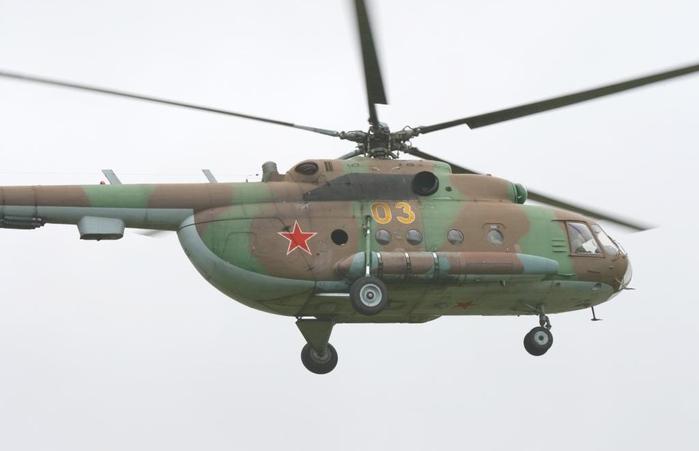 Ми-8 одновинтовой схемы с