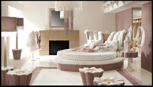 круглые кровати - Мебель своими, витражные рисунки для шкафа купе.