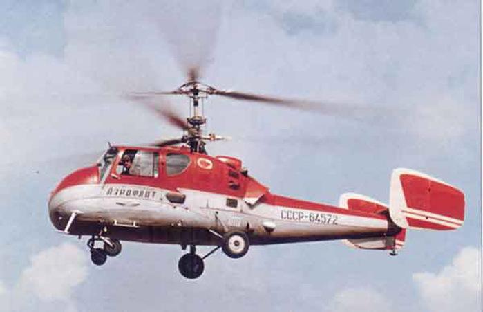 ...И. Камова началась разработка нового легкого двухместного многоцелевого вертолета двухвинтовой соосной схемы Ка-15...