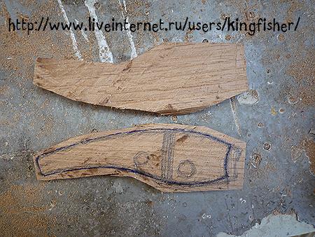 Заготовка для самодельного воблера из дерева