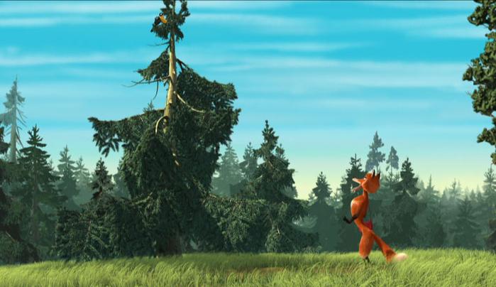 Bing: Мультфильм про лису и