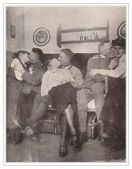 Секс фото во время войны