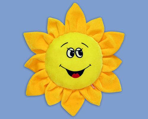 Сделать солнышко своими руками из ткани