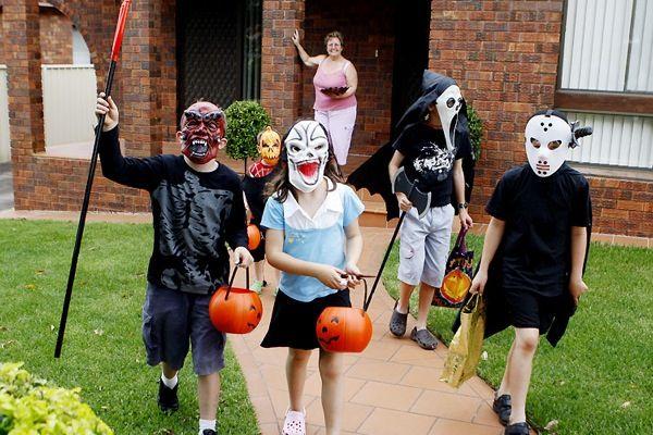 веселый хэллоуин