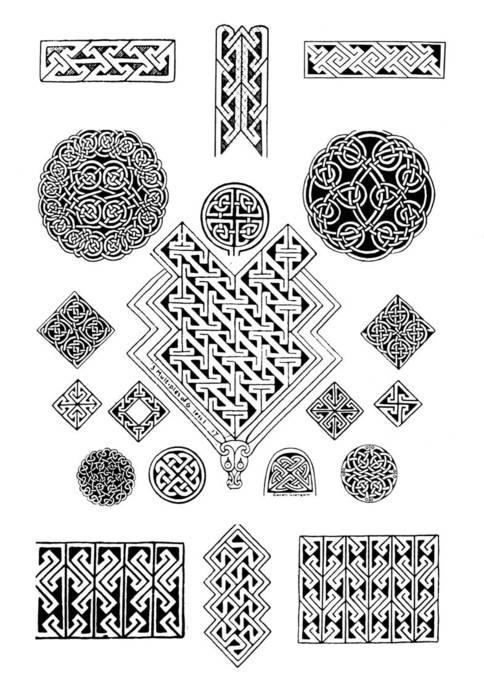 Кельтские узоры картинки.