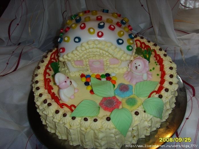 Домашние торты для детей фото
