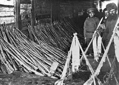 Закончилась первая мировая война