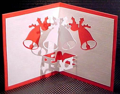 Интересный вернисаж - объемные открытки к новому году - это оригинальное решение, заменить обычную открытку...