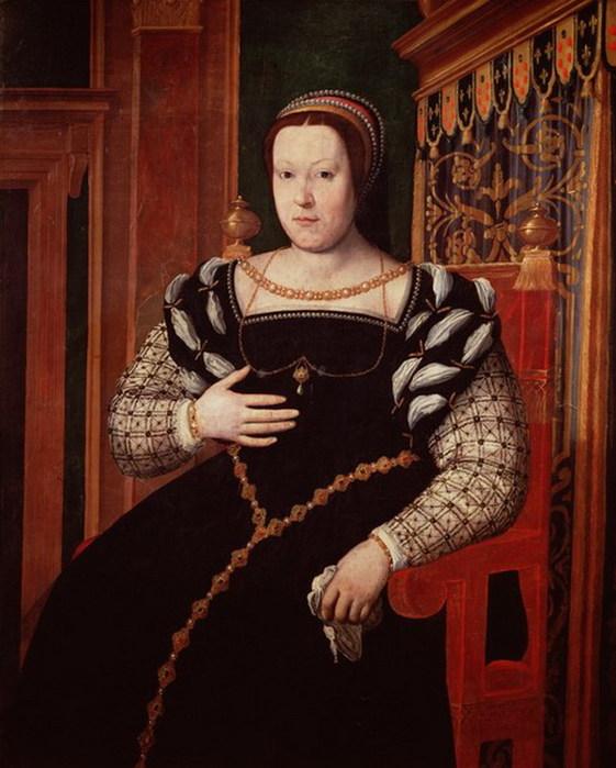 Clouet_Francois_Catherine_de_Medici_art_print_posters_painting_gallery_b (561x699, 96Kb)
