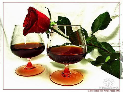 бокал вина (500x375, 49Kb)