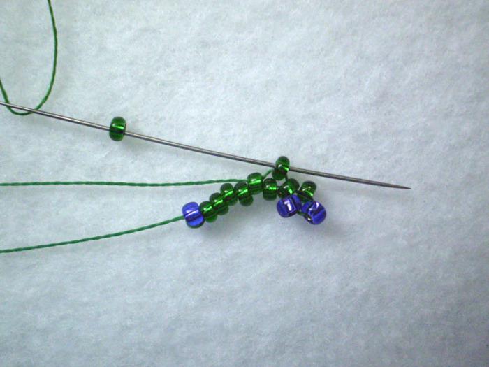 Листик от Татьяны Ван Итен.  Вот такой замечательный мастер класс по плетению листочка Татьяна Ван Итен, Ганновер...