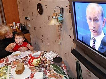 Прямой эфир с Владимиром Путиным
