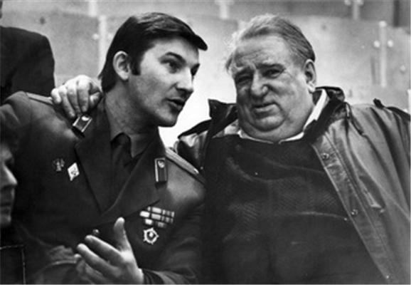 Анатолий Тарасов и Владислав Третьяк