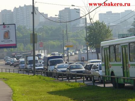 Пробки в Москве bakero.ru