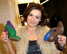 Таня Геворкян показала коллекцию своей обуви