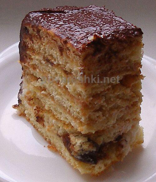 Рецепт торта СЫРОК В ШОКОЛАДЕ