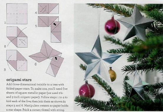 Как сделать новогоднюю звездочку своими руками