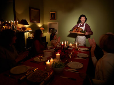 Пять золотых правил новогоднего ужина