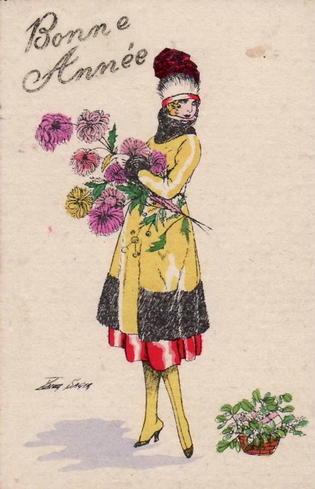 Мода на открытках