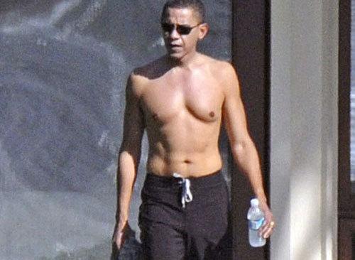 Голая политика Барак Обама