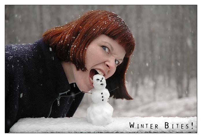 Картинки аватар девушки зима новый год
