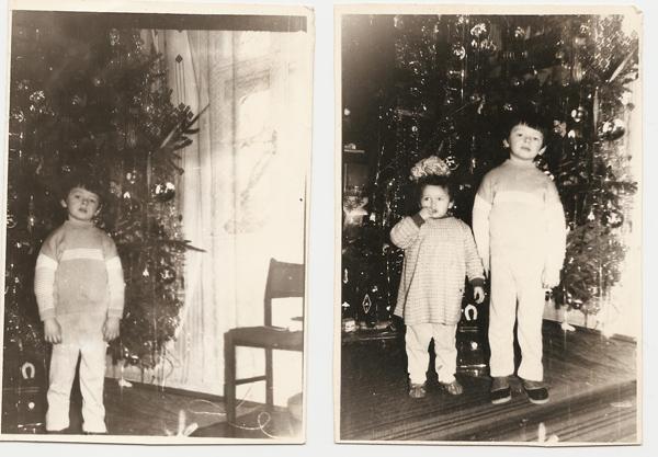 Новогодняя елка 1990 года