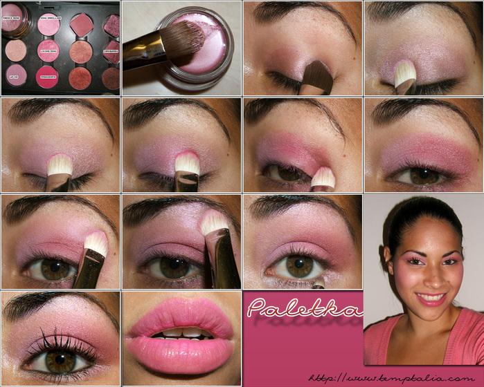 Как сделать в домашних условиях себе макияж