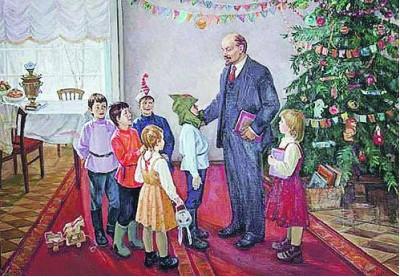 Как встречали Новый год вожди