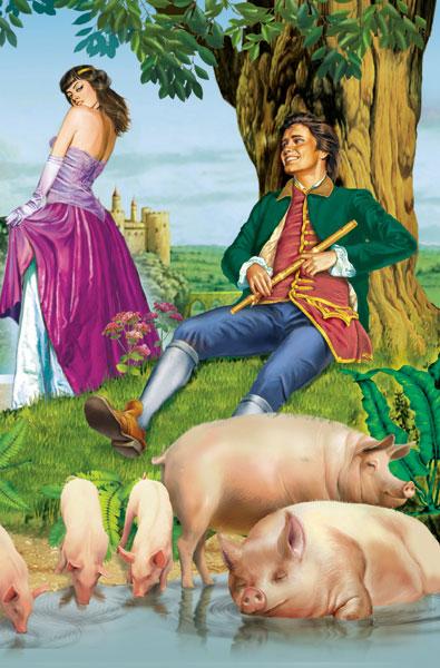 Der Schweinehirt (Hans Christian Andersen). Текст сказки на немецком языке